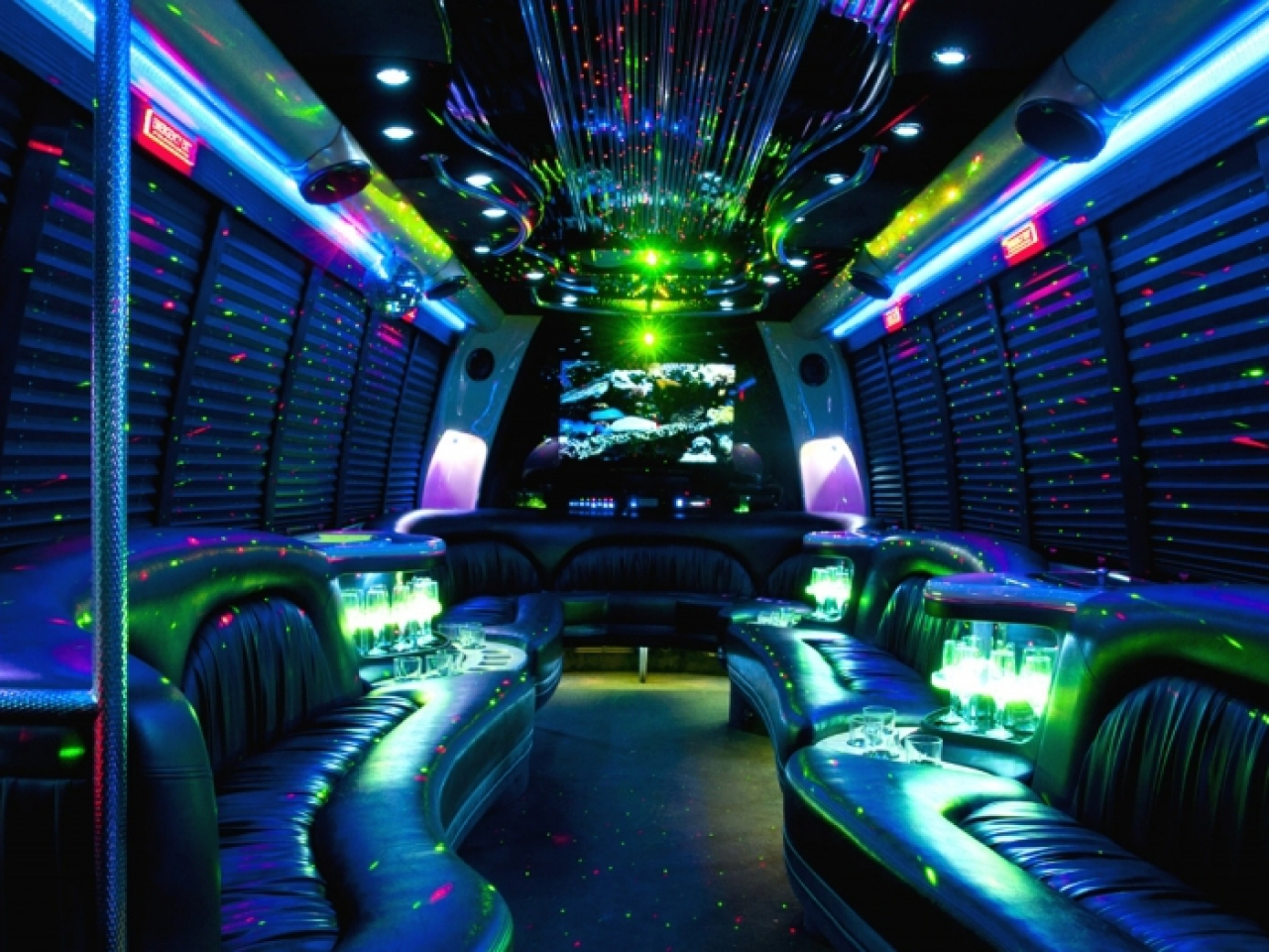 Special Police Striptease In Party Bus